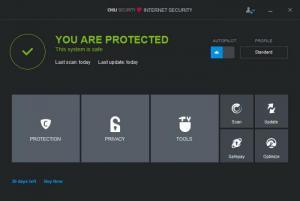 Enlarge Chili Internet Security Screenshot