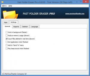 Enlarge Fast Folder Eraser Pro Screenshot