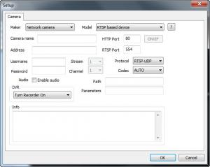 Enlarge NetCamCenter CamNebula Screenshot