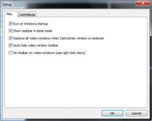 Enlarge NetCamCenter CamNebula Screenshot
