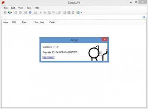 Enlarge CarotDAV Screenshot