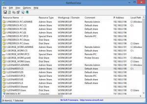Enlarge NetResView Screenshot