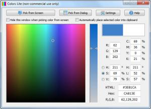 Enlarge Colors Screenshot