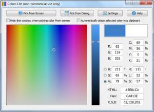 Enlarge Colors Screenshot
