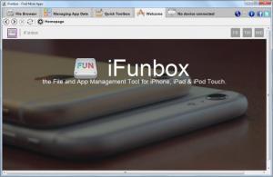 Enlarge iFunBox Screenshot