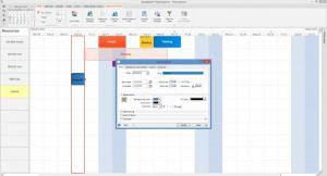 Enlarge SodeaSoft Planning Pro Screenshot