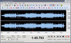 Enlarge Easy Audio Editor Screenshot