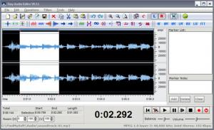 Enlarge Easy Audio Editor Screenshot