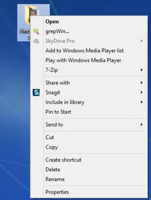 Enlarge grepWin Screenshot