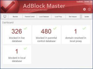 Enlarge AdBlock Master Screenshot