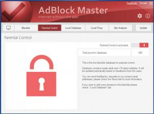 Enlarge AdBlock Master Screenshot