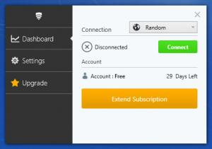 Enlarge VPN in Touch Screenshot