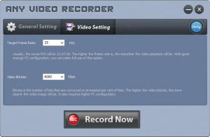 Enlarge Any Video Recorder Screenshot