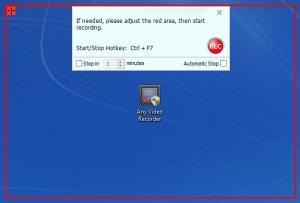 Enlarge Any Video Recorder Screenshot