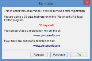 Enlarge Pistonsoft MP3 Tags Editor Screenshot