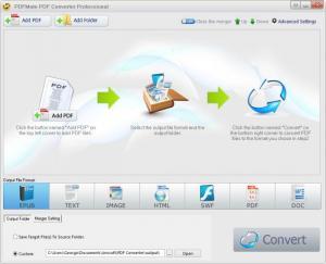 Enlarge PDFMate PDF Converter Screenshot
