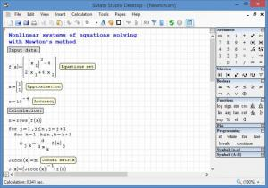 Enlarge SMath Studio Screenshot