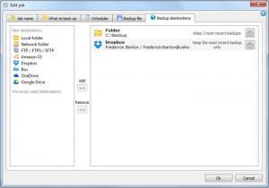 Enlarge Cloud Backup Robot Screenshot