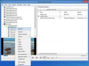 Enlarge Blues Media Player Screenshot