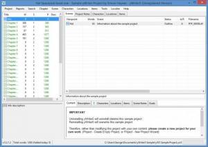 Enlarge yWriter Screenshot