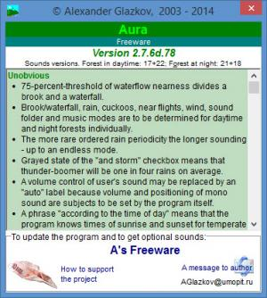 Enlarge Aura Screenshot