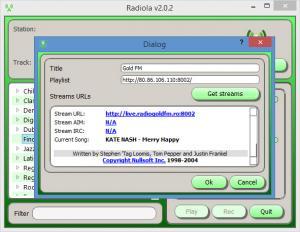 Enlarge Radiola Screenshot