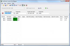 Enlarge SoftPerfect Switch Port Mapper Screenshot