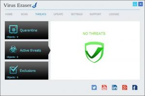 Enlarge Virus Eraser Screenshot