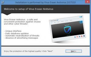 Enlarge Virus Eraser Screenshot