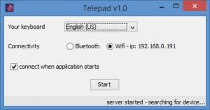 Enlarge Telepad Screenshot