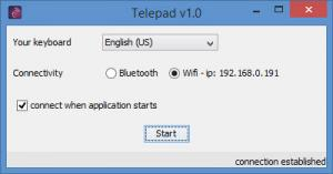 Enlarge Telepad Screenshot