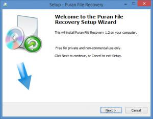 Enlarge Puran File Recovery Screenshot