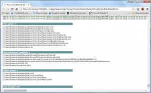 Enlarge Regshot Screenshot