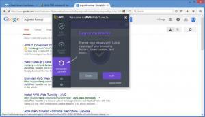 Enlarge AVG Web TuneUp Screenshot