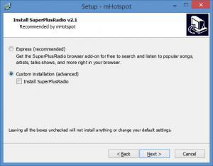 Enlarge mHotspot Screenshot
