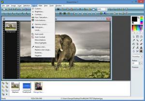 Enlarge PhotoFiltre Screenshot