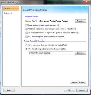Enlarge Digital Media Converter Screenshot