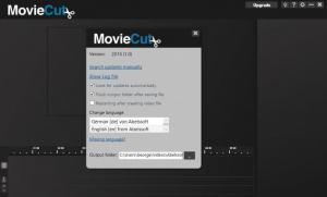 Enlarge MovieCut Screenshot