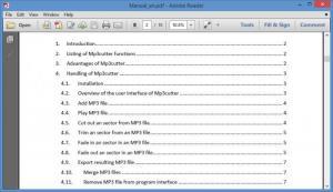 Enlarge mp3cutter Screenshot