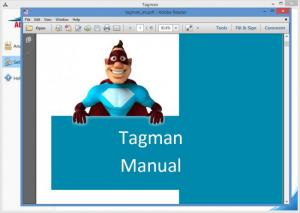 Enlarge Tagman Screenshot