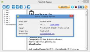 Enlarge FSS ePub Reader Screenshot