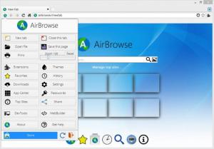 Enlarge AirBrowse Screenshot