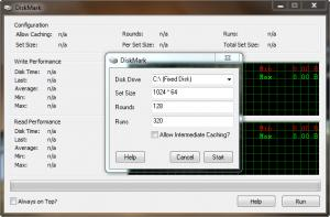 Enlarge DiskMark Screenshot