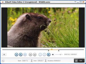 Enlarge Xilisoft Video Editor Screenshot