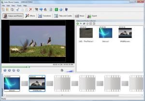 Enlarge Auto Movie Creator Screenshot