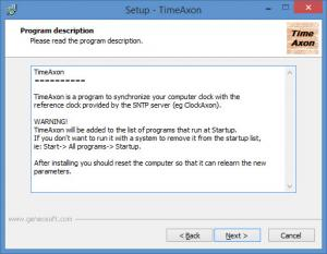 Enlarge TimeAxon Screenshot