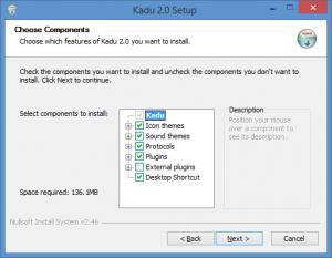 Enlarge Kadu Screenshot