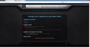 Enlarge Cyberfox Screenshot