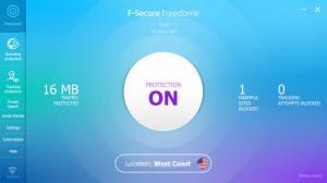 Enlarge F-Secure Freedome Screenshot