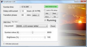 Enlarge SunsetScreen Screenshot
